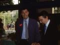 1988 - V Esposizione Micologica Città di Padova. Il Sindaco  col vicepresidente Varisco