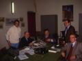 1988 - il prof. Marcel Locquin, Pallua, Zalin, Dalla Grana e Zangrandi