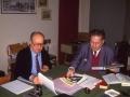 1988 - Il prof. Marcel Locquin col dott.Zalin
